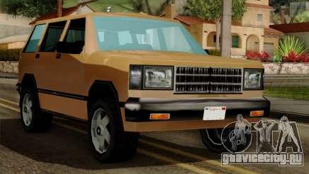 Landstalker from Vice City IVF для GTA San Andreas