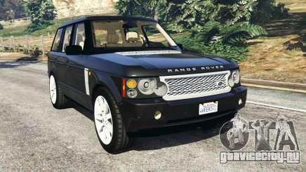 Range Rover Supercharged для GTA 5
