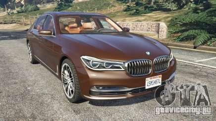 BMW 750Li 2016 v1.1 для GTA 5
