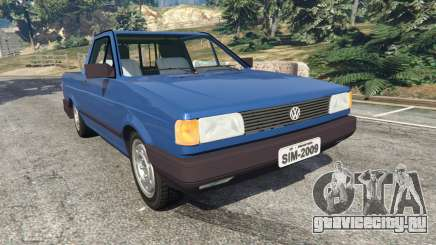 Volkswagen Saveiro 1.6 CLi для GTA 5