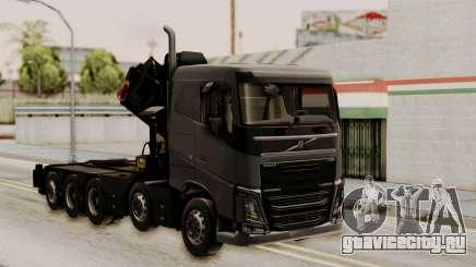 Volvo FH Euro 6 10x4 Low Cab для GTA San Andreas