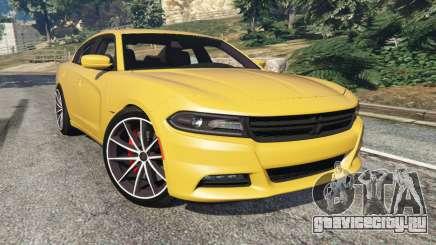 Dodge Charger RT 2015 v1.3 для GTA 5