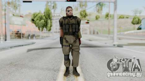 MGSV Phantom Pain Snake (Olive Drab Version) для GTA San Andreas второй скриншот