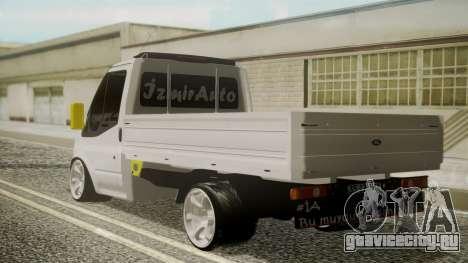 Ford Transit Hasta Ticariii для GTA San Andreas вид слева