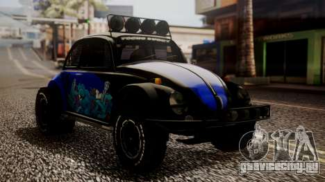 Volkswagen Beetle Vocho-Buggy для GTA San Andreas