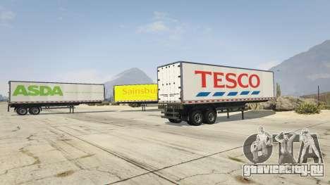 Real Brand Truck Trailers для GTA 5 третий скриншот