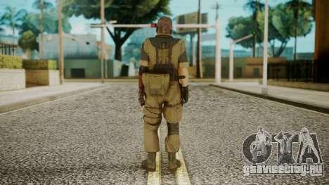 Venom Snake Olive Drab для GTA San Andreas третий скриншот