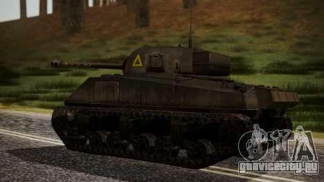 Sherman MK VC Firefly для GTA San Andreas вид слева