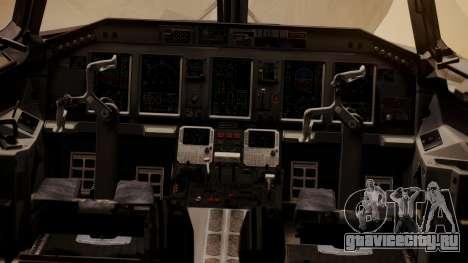 Embraer 170-100 Air Costa для GTA San Andreas вид сзади