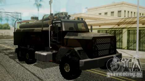 New Flatbed Hard Forest для GTA San Andreas
