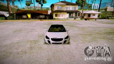 Opel Insignima SCREAM для GTA San Andreas вид сзади