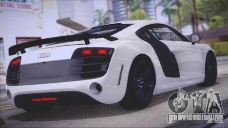 Audi R8 GT 2012 Sport Tuning V 1.0 для GTA San Andreas вид справа