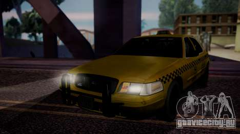 Raccoon City Taxi from Resident Evil ORC для GTA San Andreas