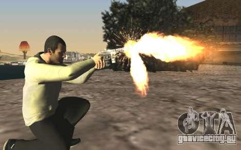 GTA 5 Tec-9 для GTA San Andreas шестой скриншот