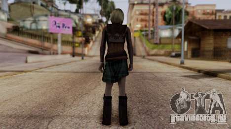 Resident Evil 4 Ultimate HD - Ashley Graham для GTA San Andreas третий скриншот