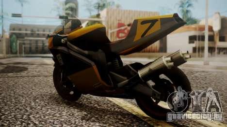 NRG-500 Number 7 Mod для GTA San Andreas вид слева