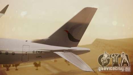 Embraer 170-100 Air Costa для GTA San Andreas вид сзади слева