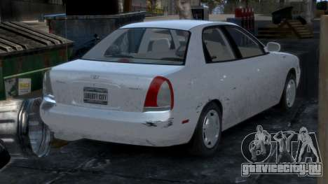 Daewoo Nubira I Sedan SX USA 1999 для GTA 4 салон