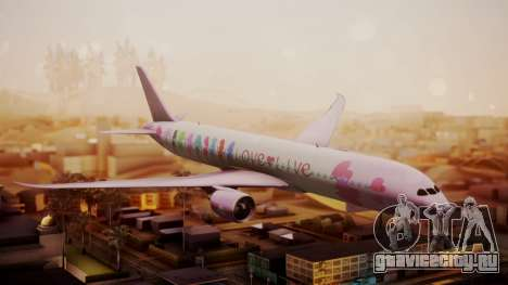 Boeing 787-9 LoveLive Livery для GTA San Andreas