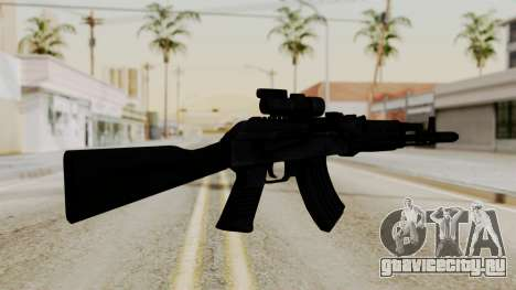 AK-103 with Rifle Dot Aimpoint M2 для GTA San Andreas второй скриншот