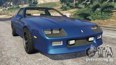 Chevrolet Camaro IROC-Z [Beta 2] для GTA 5