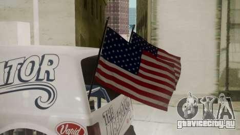 GTA 5 Vapid The Liberator для GTA San Andreas вид сзади