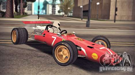 Ferrari 312 F1 для GTA San Andreas