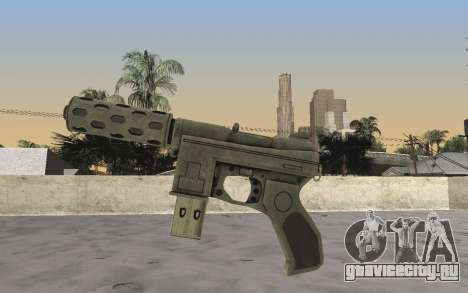 GTA 5 Tec-9 для GTA San Andreas второй скриншот