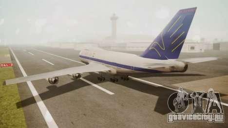 Boeing 747SP ER Airways для GTA San Andreas вид слева