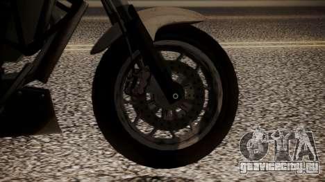 GTA 5 Dinka Thrust для GTA San Andreas вид сзади слева