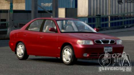 Daewoo Nubira I Sedan SX USA 1999 для GTA 4
