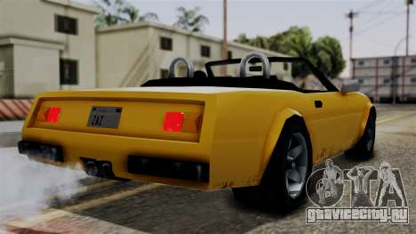 Stinger from Vice City Stories для GTA San Andreas вид слева