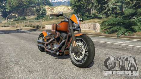 Harley-Davidson Fat Boy Lo Racing Bobber v1.2 для GTA 5
