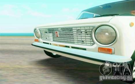 ВАЗ 2101 Stock для GTA San Andreas вид изнутри