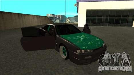 Nissan 200sx Drift для GTA San Andreas вид сбоку