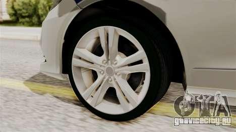 Mercedes-Benz Е500 МВД ГИБДД для GTA San Andreas вид сзади слева