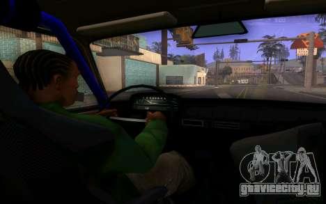 Ваз 2101 Корч для GTA San Andreas вид изнутри