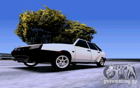 ВАЗ 2109 Турбо для GTA San Andreas вид справа