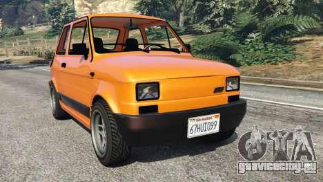 Fiat 126p v1.0 для GTA 5