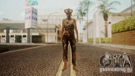 Clicker - The Last Of Us для GTA San Andreas второй скриншот