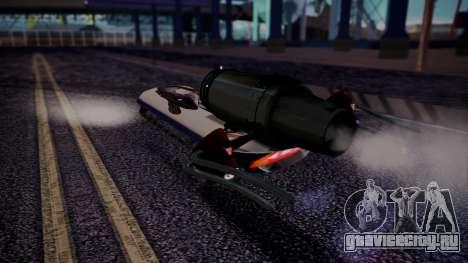 Hovercraft Vocaloid для GTA San Andreas вид слева