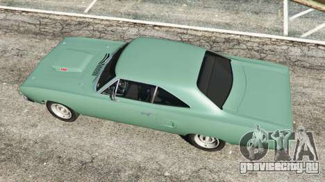 Plymouth Road Runner 1970 [fix] для GTA 5 вид сзади