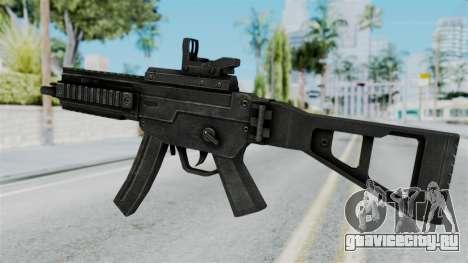 MP5 from RE6 для GTA San Andreas второй скриншот