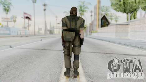 MGSV Phantom Pain Snake (Olive Drab Version) для GTA San Andreas третий скриншот