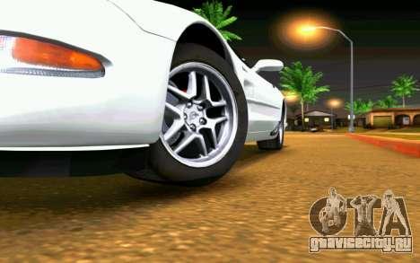 Chevrolet Corvette C5 2003 для GTA San Andreas салон