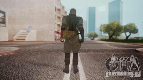 New Venom Snake для GTA San Andreas третий скриншот
