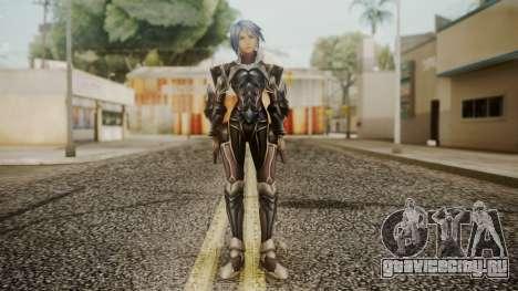 Kingdom Hearts Birth by Sleep - Armor Aqua для GTA San Andreas второй скриншот