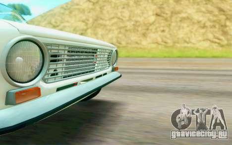ВАЗ 2101 Stock для GTA San Andreas вид сзади