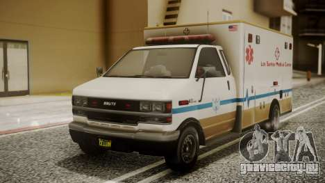 GTA 5 Brute Ambulance для GTA San Andreas