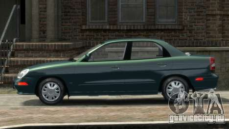 Daewoo Nubira II Sedan SX USA 2000 для GTA 4 вид слева